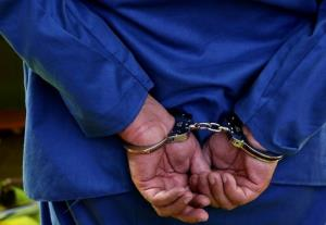 سارق زعفران در قاینات دستگیر شد