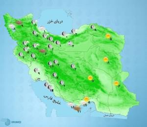 پیشبینی وضعیت آب و هوا؛ احتمال وقوع بهمن در ارتفاعات البرز