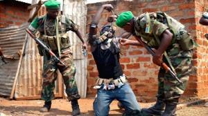 شورش در آفریقای مرکزی و کشته شدن ۴۴ نفر