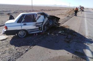 ۲ حادثه رانندگی در استان یزد ۵ کشته و زخمی برجا گذاشت