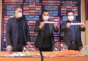 قرعهکشی مرحله دوم جام حذفی فوتبال برگزار شد