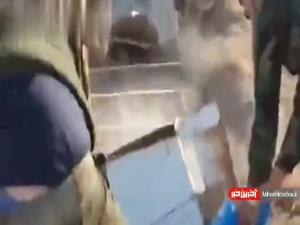 کشف مخفیگاه و انبار سلاح داعش در منطقه العیث شرق صلاح الدین