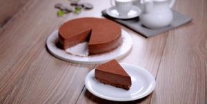 طرز تهیه چیزکیک تریپل چاکلت خوشمزه و آسان