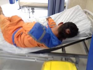 افراد ناشناس با قمه ۲ پاکبان را در بندرعباس مجروح کردند
