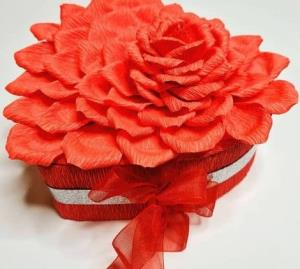 آموزش کامل باکس گل زیبا برای هدیه روز مادر