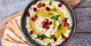 طرز تهیه مطبل لبنانی ؛ یک پیش غذای عربی خوشمزه با ماست و بادمجان