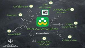 غایب بودن ۲۰ درصد دانشآموزان خراسان رضوی در شبکه شاد