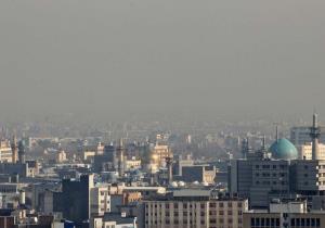 تداوم آلودگی هوا در مشهد