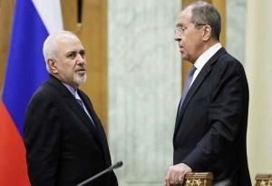 گزارش توئیتری ظریف از دیدار با وزیر خارجه روسیه
