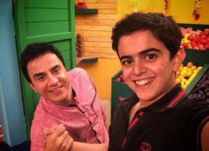 خوشحالی عموپورنگ از تحقق آرزوی امیرمحمد در بازیگری