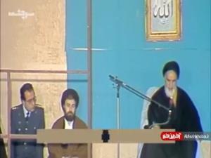 سخنرانی امام خمینی(ره) در رابطه با مجاهدتهای افسران ارتش