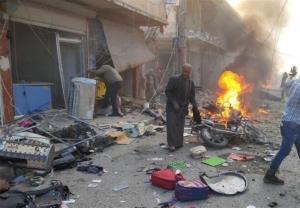 انفجار شدید در «تل ابیض» ۱۰ کشته و زخمی به جا گذاشت