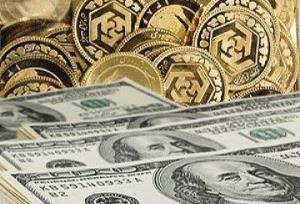 کاهش قیمت سکه و طلا در روز آرام برای ارزها