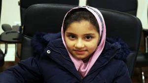 دختر ۸ ساله چهارمحال و بختیاری، قهرمان شطرنج کشور شد