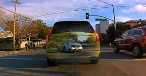 تکنولوژی جدیدی که خودرو را نامرئی میکند!