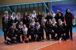 سایپا قهرمان لیگ والیبال زنان شد