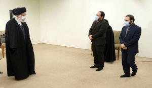 عکس/ تشریفات رهبری در دیدار با مهمانان