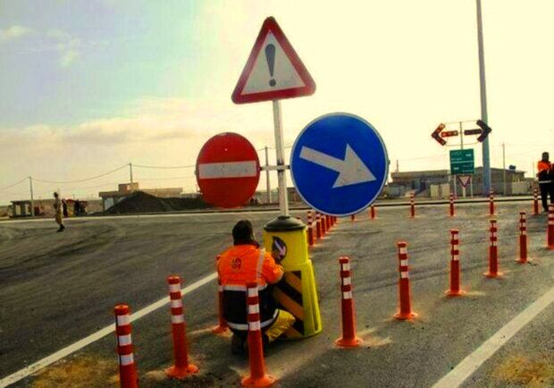 زمینه برای حل گره ترافیکی ورودی شهر اهرم فراهم شد