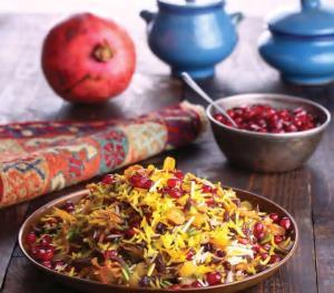 طرز تهیه انار پلو شیرازی خوشمزه و مجلسی با سر آشپز حرفه ای