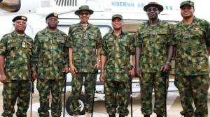 رئیس جمهوری نیجریه روسای نیروهای مسلح را برکنار کرد