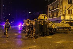 درگیری معترضان با ارتش لبنان در طرابلس