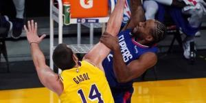 لیگ بسکتبال NBA/ شکست کلیپرز در روز برتری هوستون و یوتا جاز