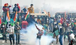شورش تراکتوری در هند