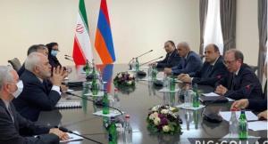 ظریف: تمامیت ارضی ارمنستان خط قرمز ایران است