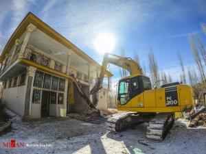 عکس/ تخریب ویلای میلیاردی چند مسئول در فیروزکوه