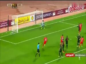 پیروزی العربی با گل دقایق پایانی مهرداد محمدی