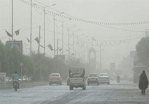 هوای کلانشهر اهواز ناسالم است
