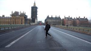 سکوت لندن پس از موج کرونای انگلیسی