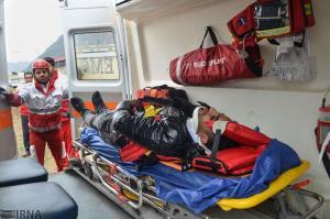 ۲۱ مصدوم تصادف اتوبوس در ۳۵ کیلومتری سرخه از بیمارستان مرخص شدند