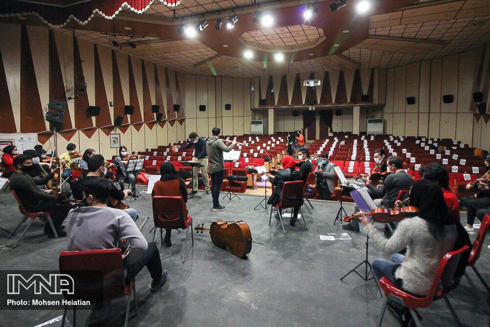 تمرین ارکستر نوجوانان و جوانان اصفهان