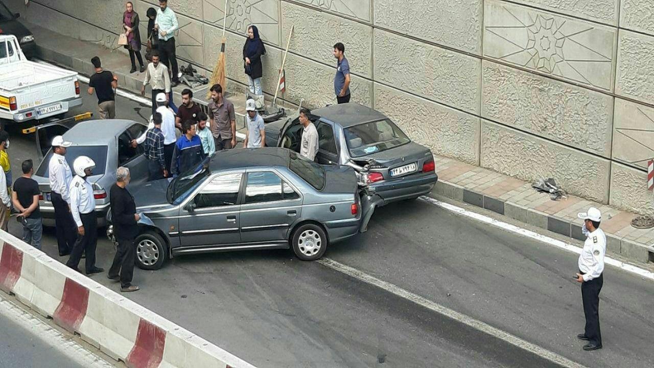ایمنسازی بلوار فاطمیه و زیرگذر صداوسیما همدان