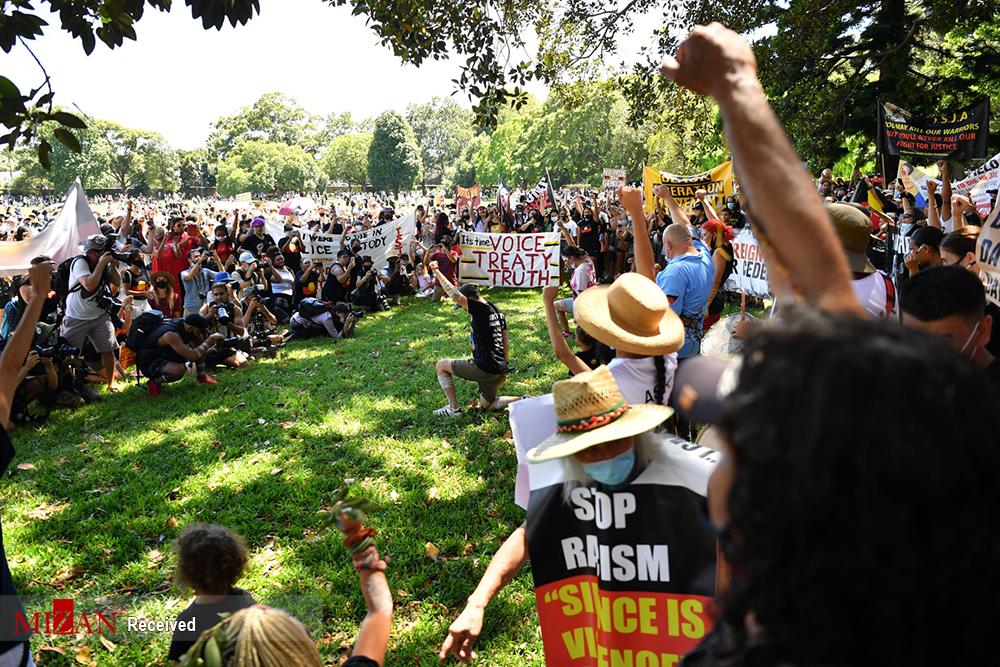 تظاهرات علیه «روز ملی» در استرالیا