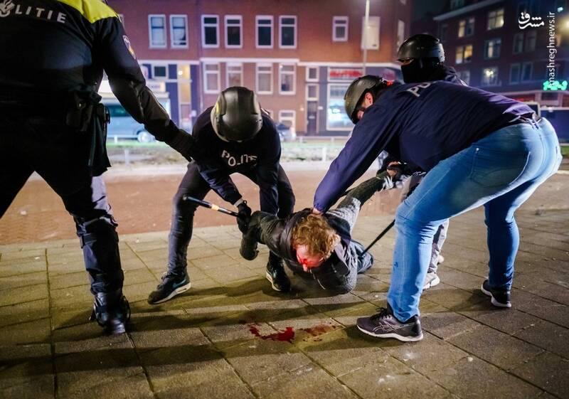 عاقبت اعتراض در هلند