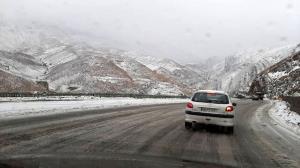 پیشبینی بارش برف و باران در جادههای ٢٥ استان