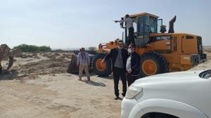 رفع تصرف ۲۰۶.۶ هزار متر مربع از اراضی قشم