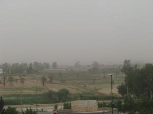 گرد و غبار دید افقی در قصرشیرین را به ۵ هزار متر کاهش داد