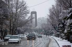 جمعه برفی در استان همدان
