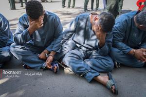 دستگیری ۴ شروری که با قمه خیابان ولیعصر را بسته بودند