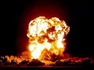 انفجار شدید مخزن گاز