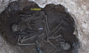 اسکلتهای مکشوفه املش مربوط به دوره اشکانیان و ساسانیان است