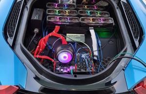 ابداعی جالب؛ وقتی BMW هم به استخراج ارز دیجیتال کمک میکند!