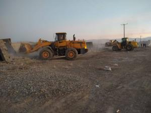 ۱۱۰ هکتار زمین کشاورزی ساوجبلاغ آزادسازی شد
