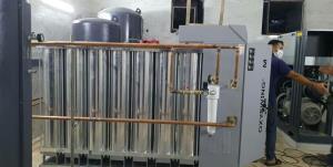 بهرهبرداری از بزرگترین دستگاه اکسیژنساز استان در بیمارستان مشگینشهر