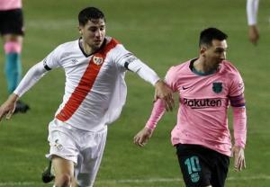 جامحذفی اسپانیا/ بارسلونا با گلزنی مسی صعود کرد