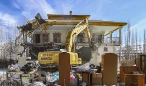 تخریب ویلای ۲ مسئول در فیروزکوه