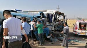 صدور کیفرخواست متهمان تصادف مینیبوس و اتوبوس در زرندیه
